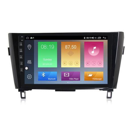 Navigatie Android 9.1 Nissan Qashqai X-Trail 2013+ GPS Wi-Fi 9inch