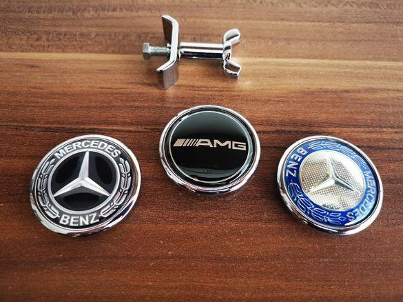 Емблема Мерцедес / Mercedes Benz тип тапа