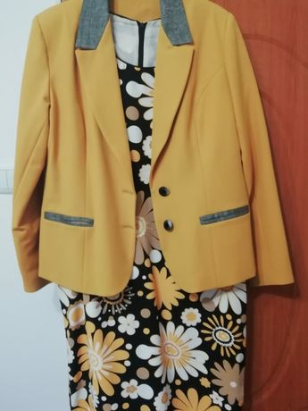 Costum dama (rochie+sacou)