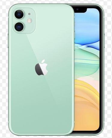 Iphone 11 green,blck,white,red,yellow 64gb noi sigilate in cutie,2 ani