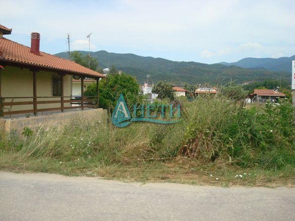 Изгоден УПИ 800 м2 в курортно селище Неа Врасна, Гърция, до плажа