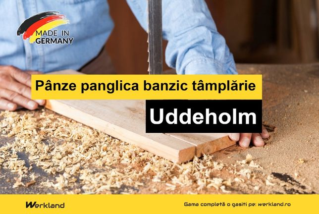Panze panglica banzic tamplarie Uddeholm   Made in Germany