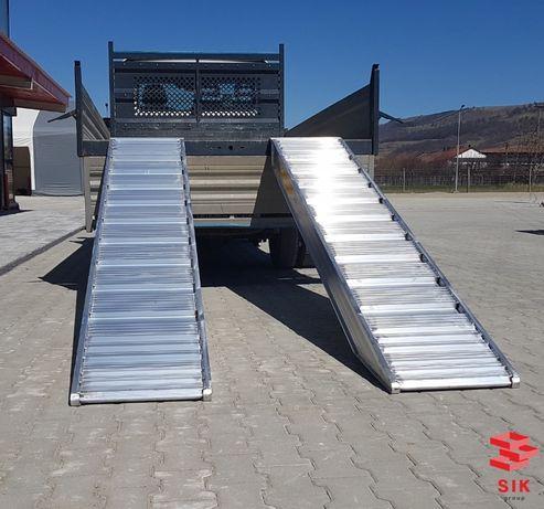 Rampă aluminiu pentru trailer, platformă, basculā tonaj mare