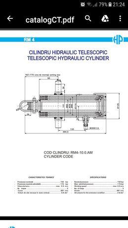 Reparații cilindri hidraulici