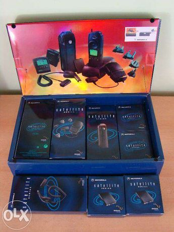 Telefon satelit Iridium 9500 Motorola cu accesorii vezi poze pt acceso