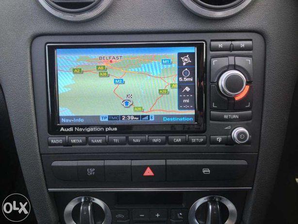 Dvd Cd Navi AUDI A3 A4 A6 TT DVD Navigatie RNS-E ROMANIA 2019 Harti