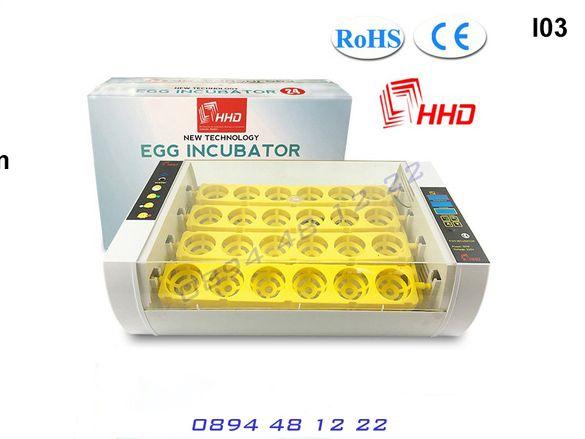 Автоматичен Инкубатор Влагомер 24 Яйца Люпилня Пилета Птичи Яйце Пиле