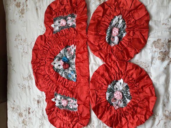 Декоративни възглавнички нови копринен сатен 10