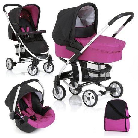 Комбинирана детска количка 3 в 1 Hauck Malibu