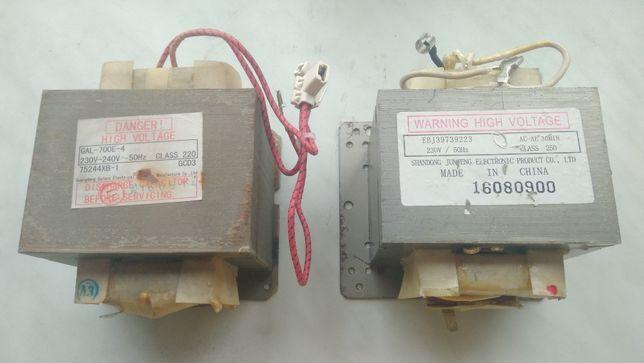 Трансформаторы от микроволновок СВЧ-печи для контактной сварки