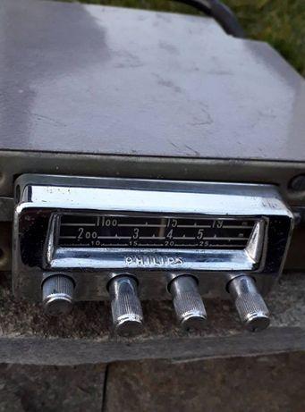 лампово радио за ретро кола philips nx 624