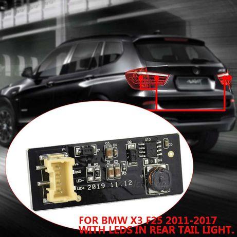 BMW X3 F25 REPARATIE Modul LED Stopuri Haion Placă Circuit Stop