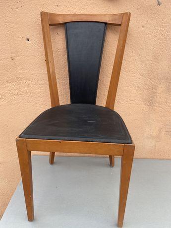 Дизайнерски стол от дания Естествена кожа