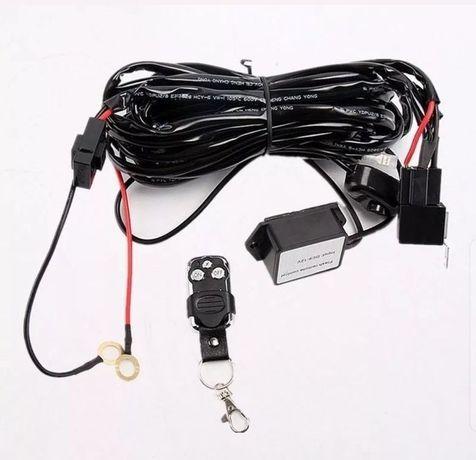 Комплект окабеляване с ДИСТАНЦИОННО за LED барове, халогени, фарове, к