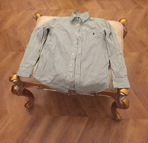Практически новая рубашка Polo Ralph Lauren на 11 лет/оригинал. Срочно