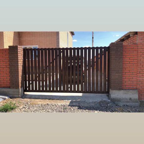 Откаканые ворота