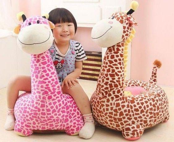 Fotoliu plus copii Girafa