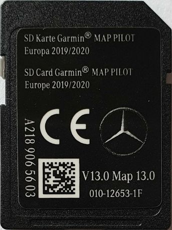 SD Card Star1 GARMIN MAP PILOT Europe 2020г.v13 Карта Гармин Мап Пилот