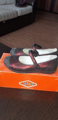 Туфли в школу кожаные