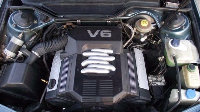 Привозные двигателя Audi C4, C4 A6 -2.3, 2.6, 2.8