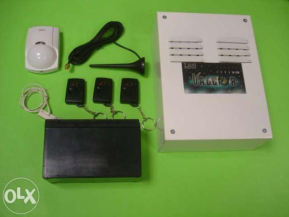 Алармена система със СМС-известяване и позвъняване при взлом! GSM алар