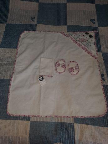 Полотенце уголок для девочки caramel