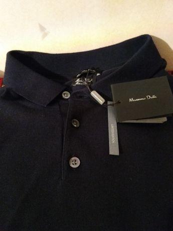 Pulover barbatesc Massimo Dutti din lana merino 100%