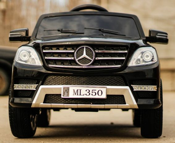 Masinuta electrica pentru copii Mercedes ML350 2x25W 12V #Negru