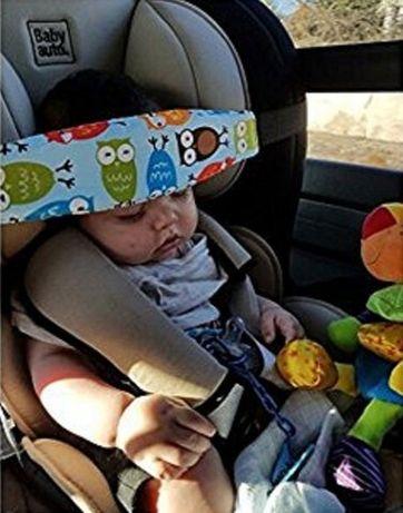 Помощна лента от памучен колан за дрямка на бебе