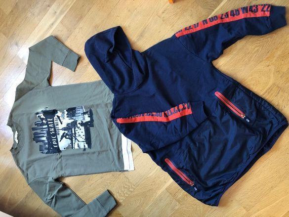 Суетшърти (горнища, горница) Zara и H&M, момче, 146-152