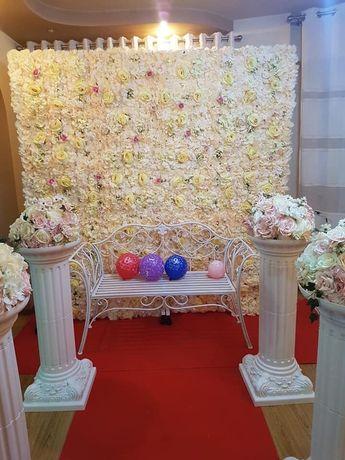 Masa invelit mireasa+ decorațiuni nunta