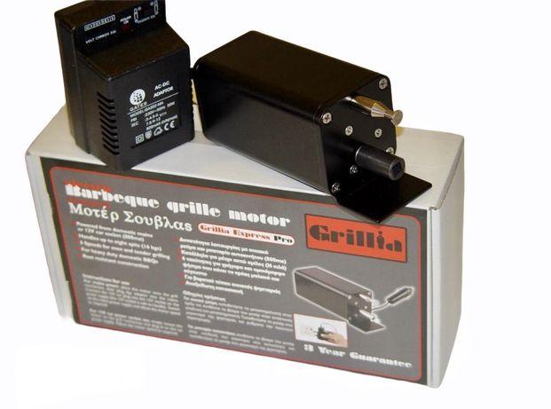 Motor electric profesional pentru gratar cu rotisor, viteza reglabila,