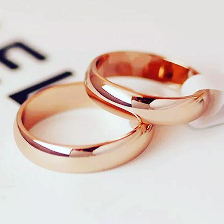 Новые обручальные кольца из титанового сплава