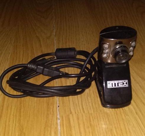 Camera web cu microfon Intex Night Vision A4tech