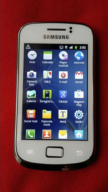 Samsung Galaxy Mini 2 GT-S6500D White