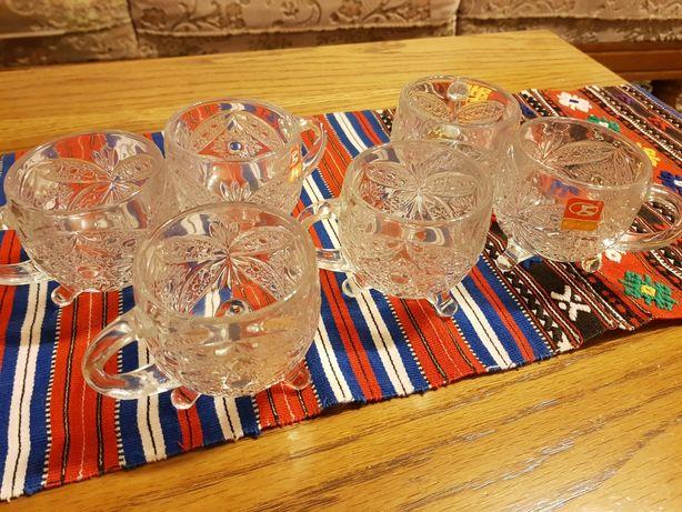 Set 6 căni de sticla high quality nou