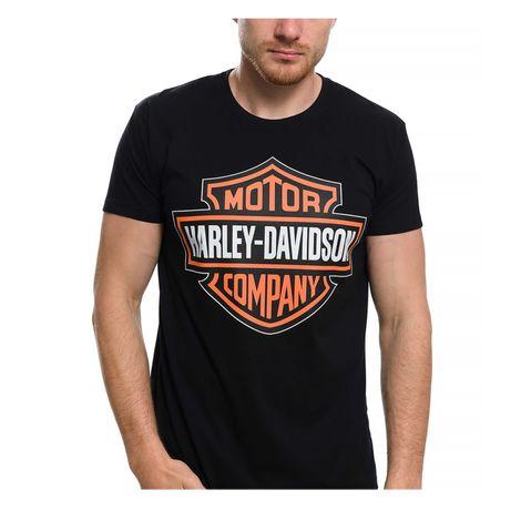 Нова мъжка тениска с щампа Harley Davidson, мотори