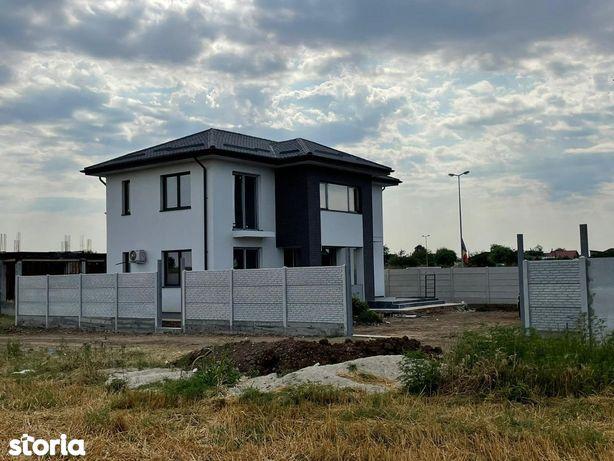 Vila inviduala,4 camere,curte 300mp,comision zero,Dragomiresti-Vale