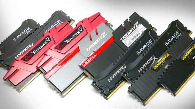 ОЗУ DDR2, DDR3, DDR4 1-2-4-8-16Gb