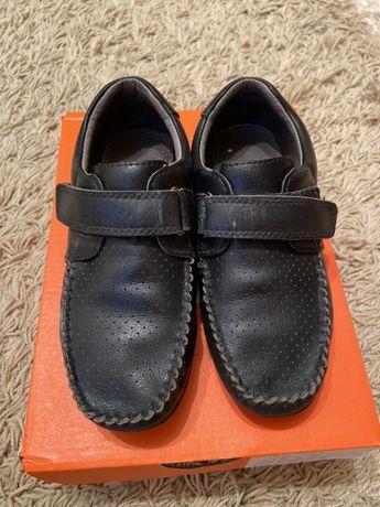 Продам мальчиковые туфли , натуральная кожа