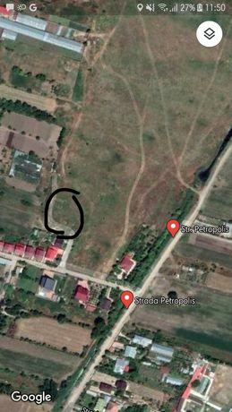 Vând teren zona vile in varsatura strada petropolis
