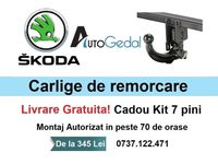 Carlig Remorcare Skoda Octavia III Sedan 2013-2019 Livrare Gratuita