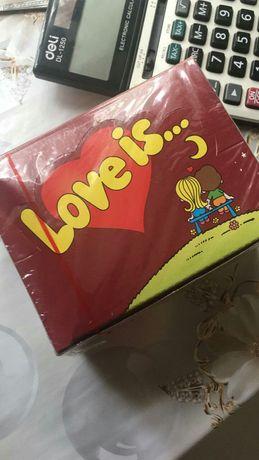 Жвачка Love is... оригинал как в 90х..