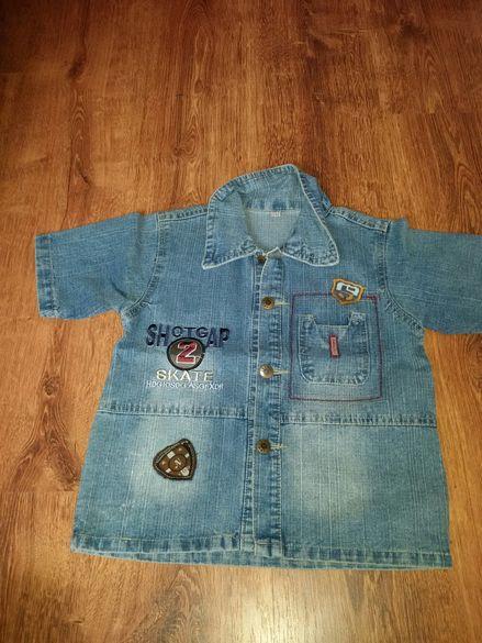 Детска дънкова риза