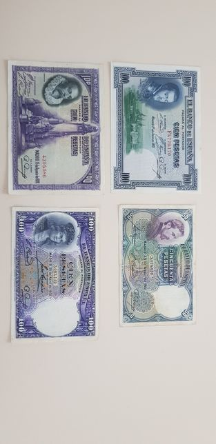 Lot bancnote spania