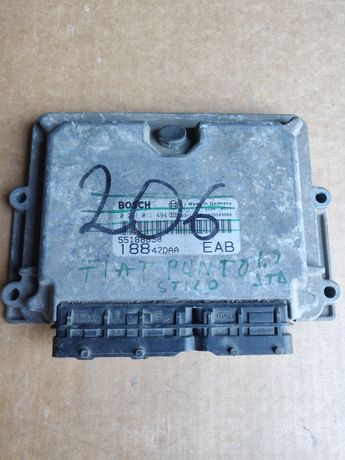 Calculator motor ECU Fiat Stilo 1.9 JTD 55188850