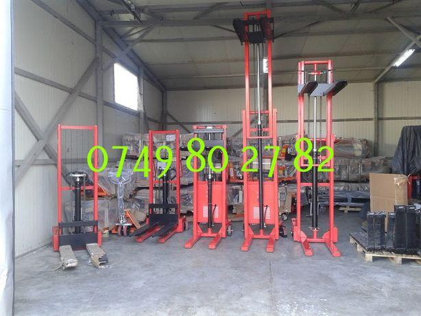 stivuitor manual 1 tona, 1.5 tone sau 2 tone , garantie