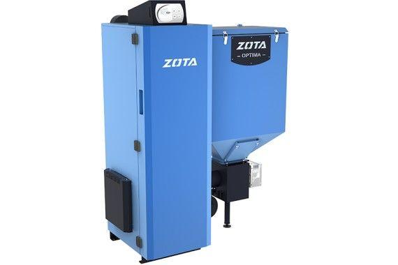 ZOTA Optima автоматический твёрдотоплевный котёл 15, 20, 25 до 40 кВт.