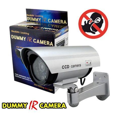 Фалшива Бутафорна Камера с LED диод за сплашване и охрана