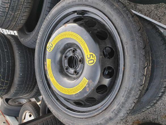 Резервна гума,патерица 125/70/18 5 на 100